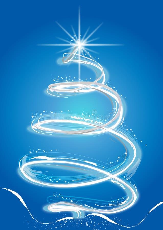 De Kerstboom van de fantasie royalty-vrije illustratie