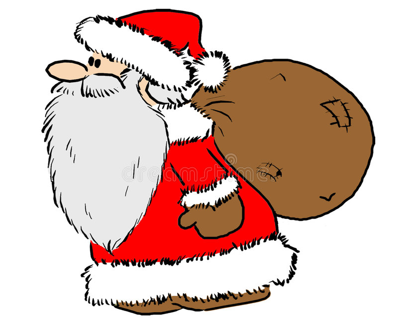 Download De Kerstman stock illustratie. Afbeelding bestaande uit speelgoed - 42829