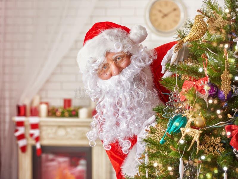 De Kerstman _2 royalty-vrije stock foto's