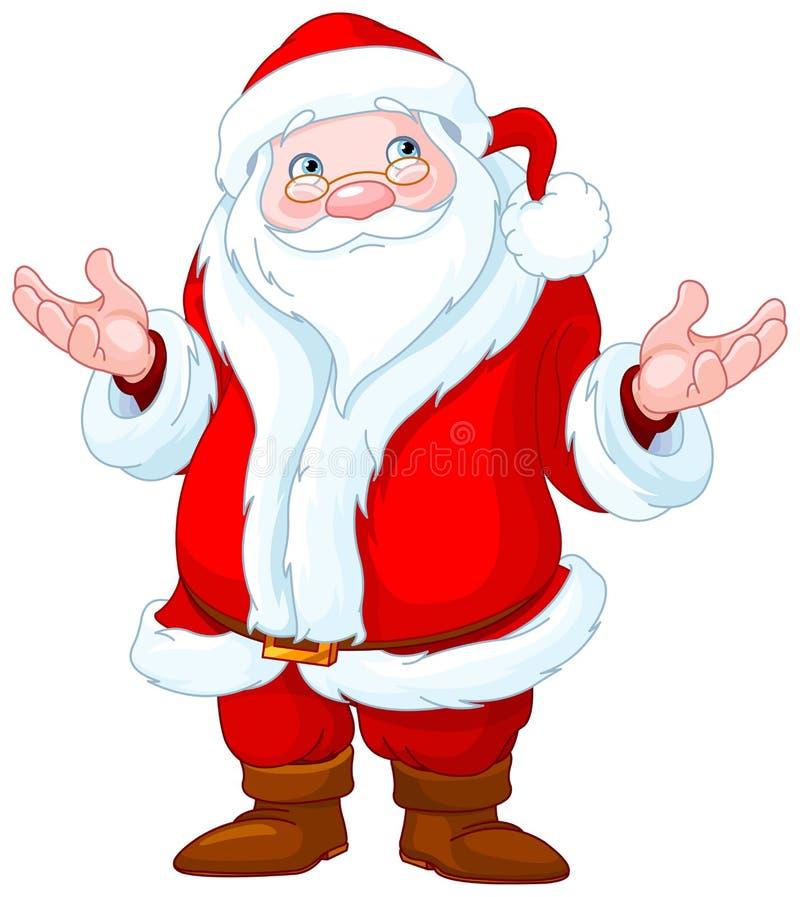 De Kerstman _2 stock illustratie