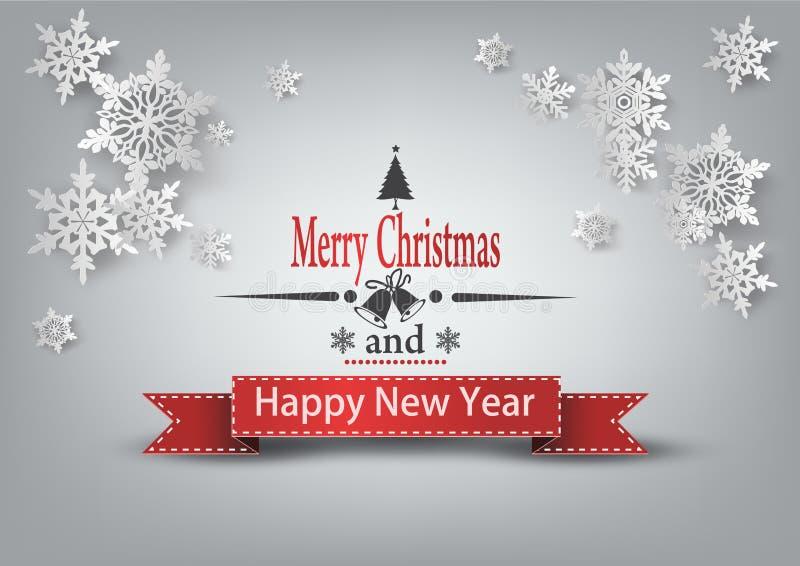 De Kerstman op een slee Het vrolijke van letters voorzien van Kerstmis royalty-vrije illustratie