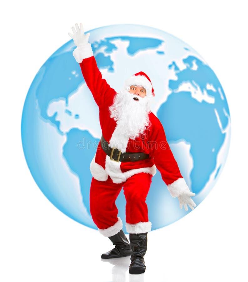 De Kerstman van Kerstmis royalty-vrije stock afbeelding
