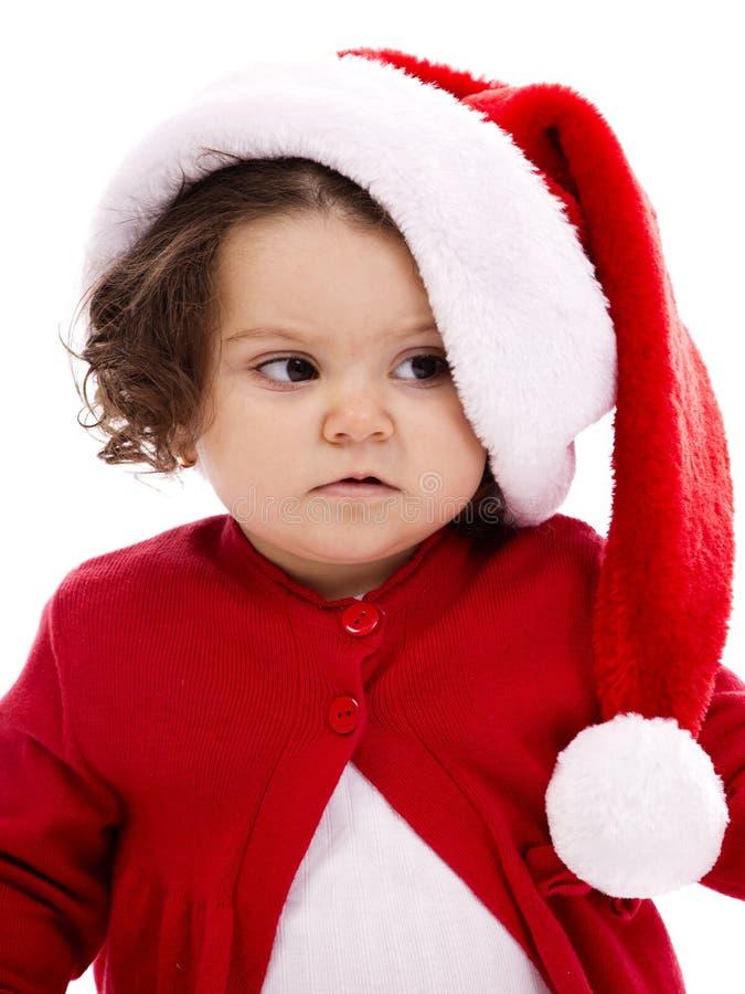 De Kerstman van Kerstmis van de baby stock foto's