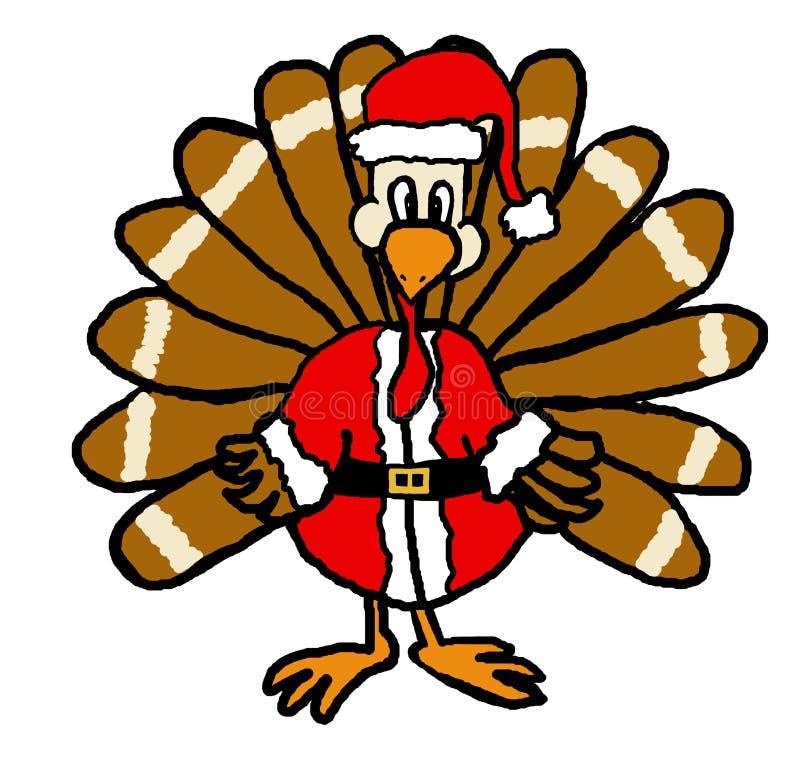 De Kerstman van Turkije vector illustratie