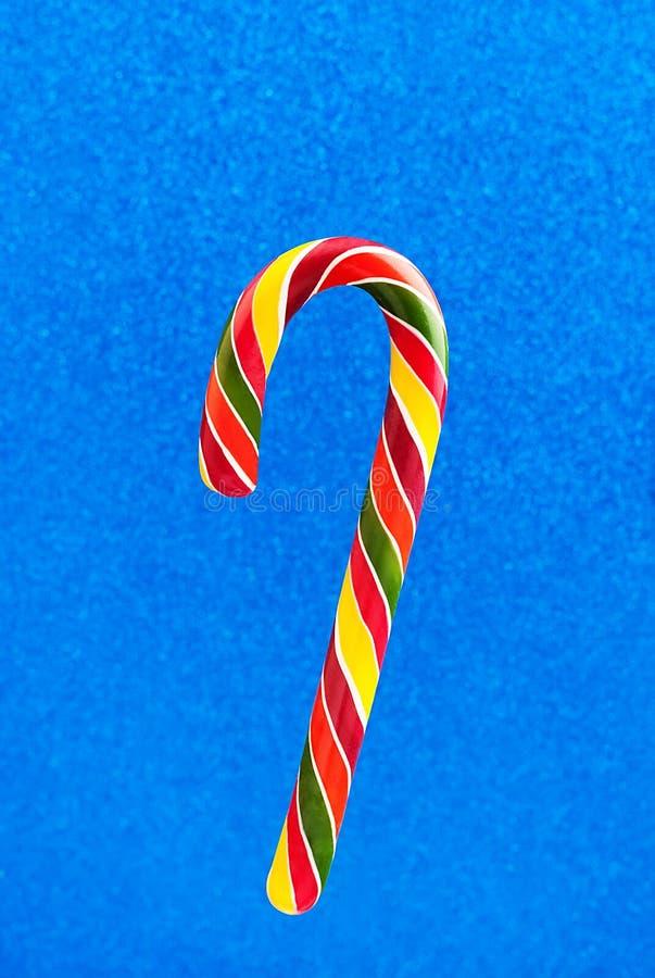 De Kerstmis gekleurde close-up van het suikergoedriet royalty-vrije stock foto