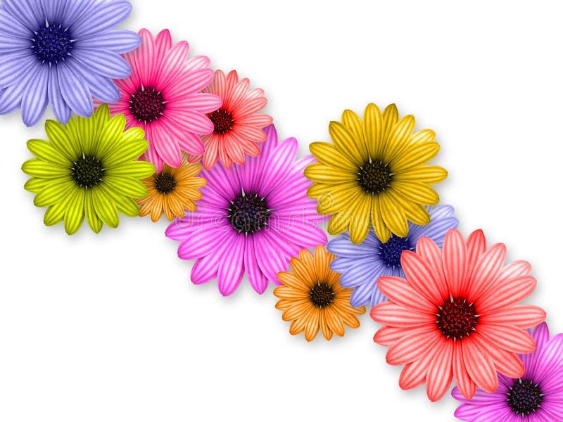 De ketting van de bloem vector illustratie