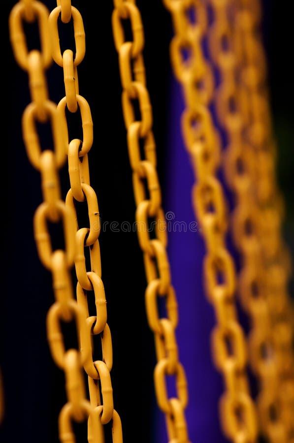 De ketting van het ijzer royalty-vrije stock foto's