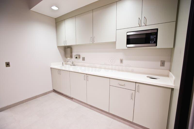 De Keuken van de Zaal van de Onderbreking van het bureau royalty-vrije stock foto's
