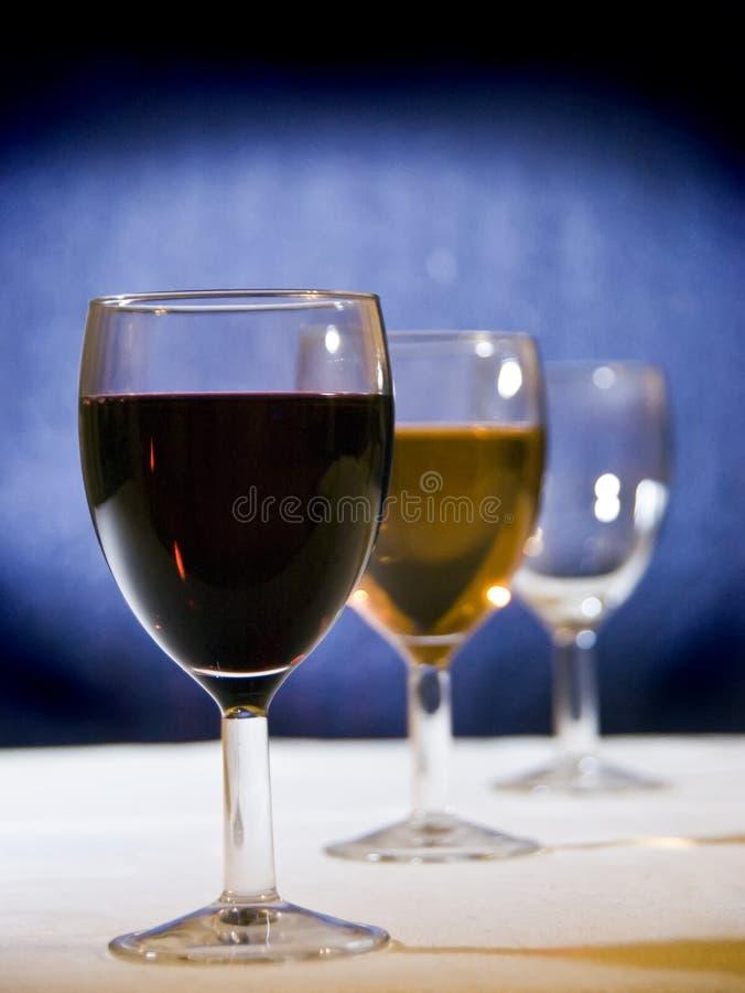 De keus van de wijn stock foto's