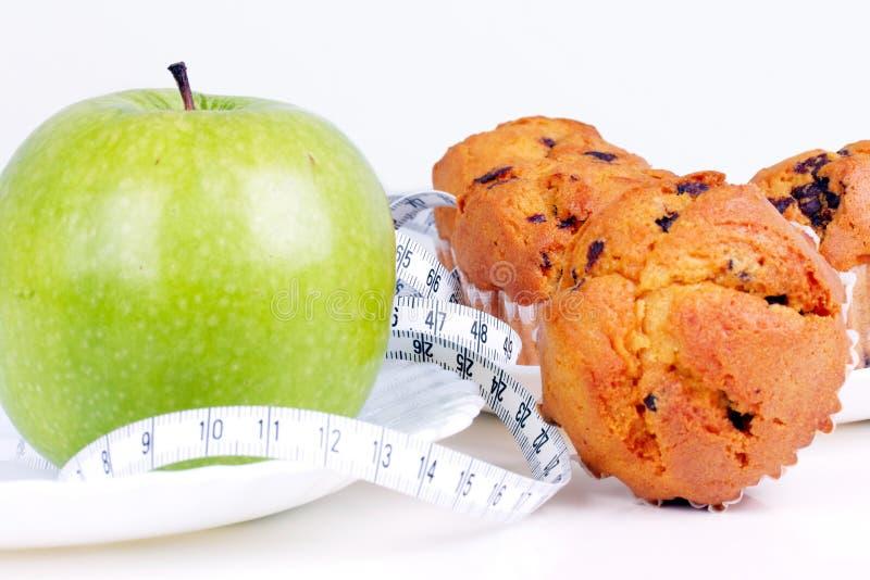 De keus van het dieet royalty-vrije stock foto