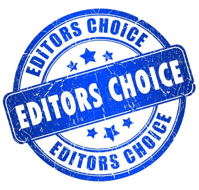 De keus van redacteurs royalty-vrije illustratie