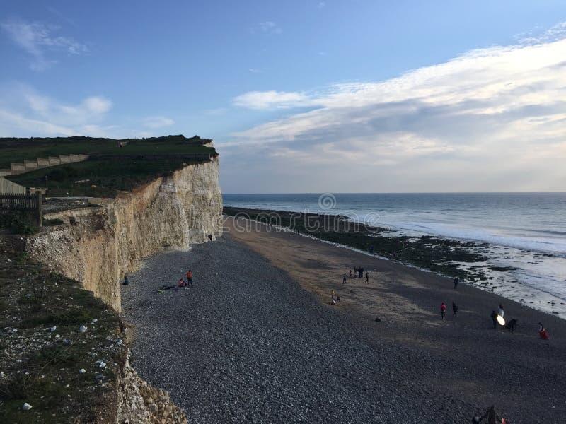 De kiezelachtige hoofdmening Oost- van Sussex van hierboven stock afbeelding