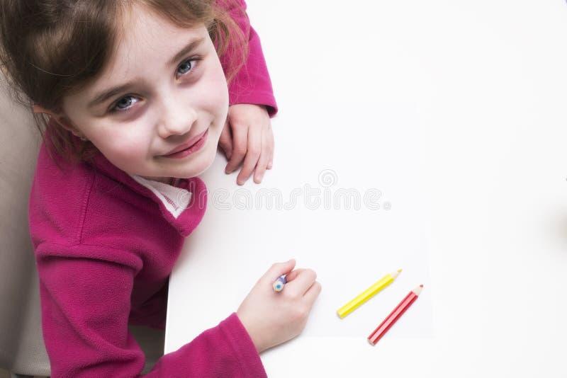 De kinderen glimlacht royalty-vrije stock afbeelding