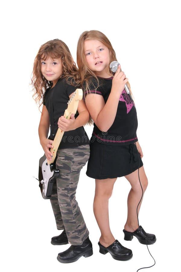 De kinderen van Rockstar royalty-vrije stock fotografie