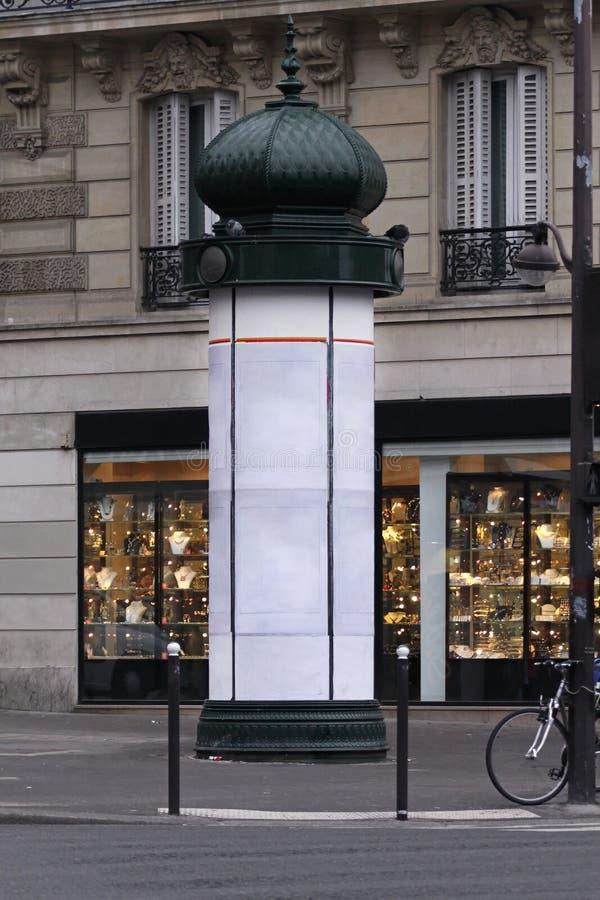 De kiosk van Parijs stock foto