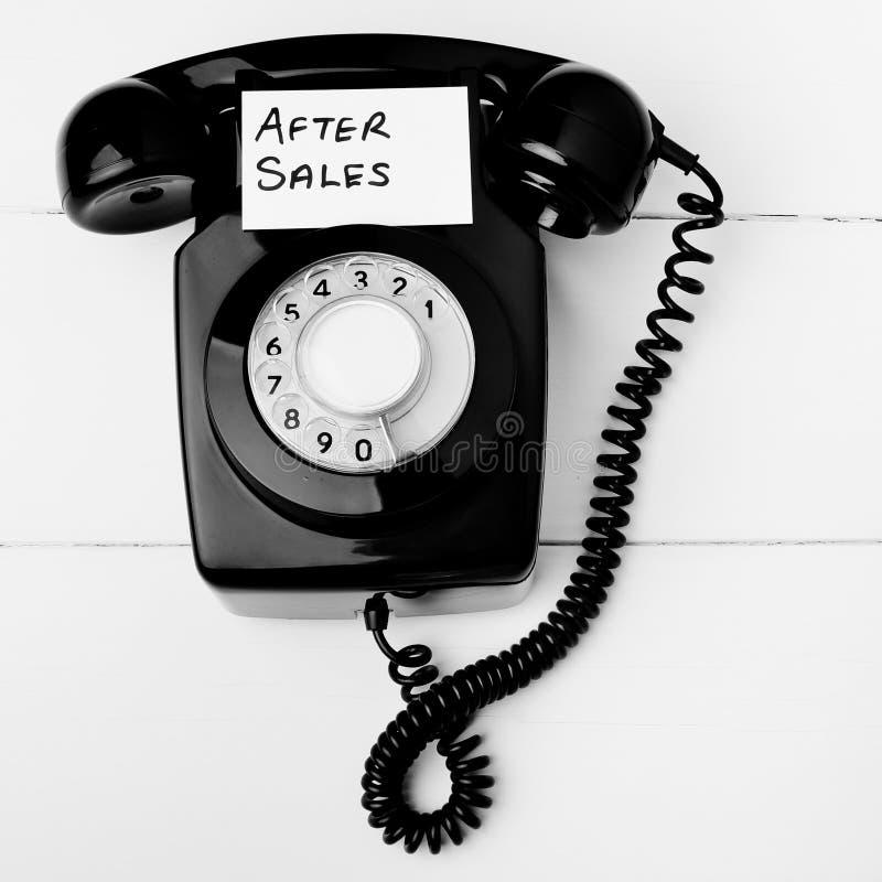 De klantendienst na verkoop royalty-vrije stock foto's