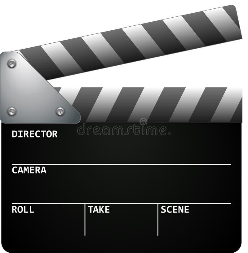 De Klap van de film vector illustratie