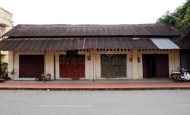 De Klap van Luangpra stock fotografie