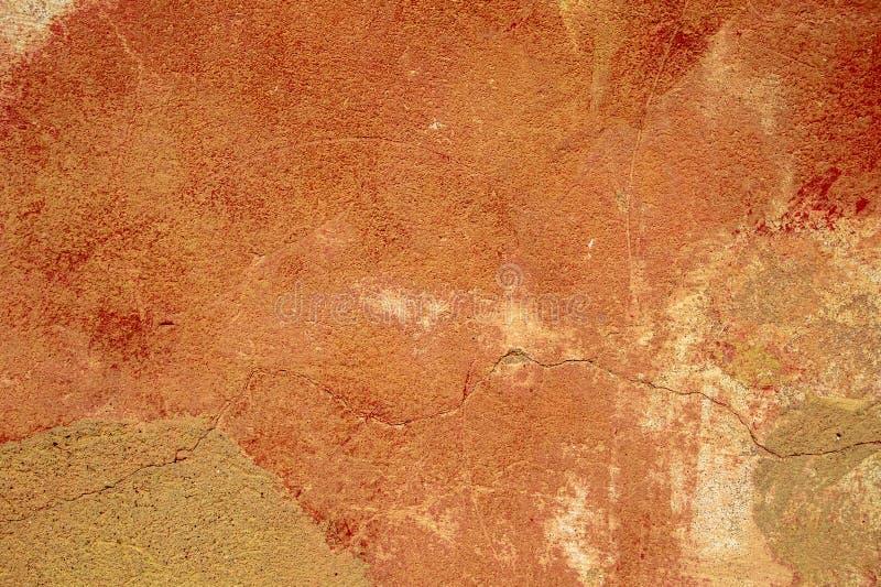 De klassieke achtergrond van de Grungemuur De Textuur van kleurengrunge Oude stijl stock foto