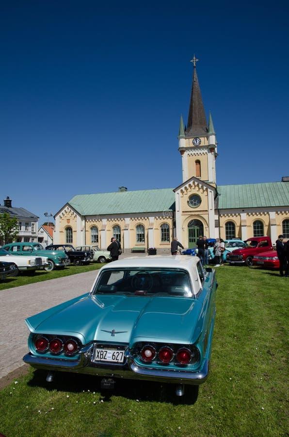 De klassieke auto van Ford Thunderbird 1960 royalty-vrije stock foto