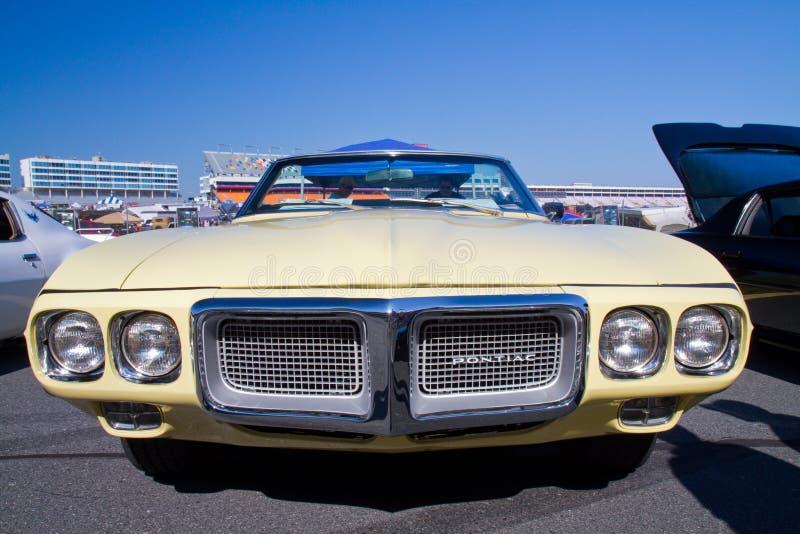 De klassieke Auto van Pontiac Firebird van 1969 royalty-vrije stock foto