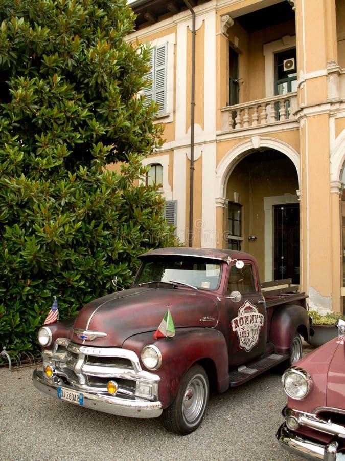 De klassieke bestelwagen van de V.S. royalty-vrije stock foto's