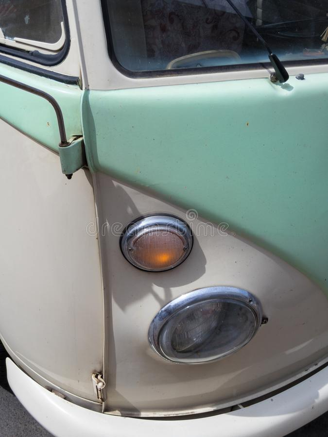 De klassieke bus van Volkswagen stock foto's