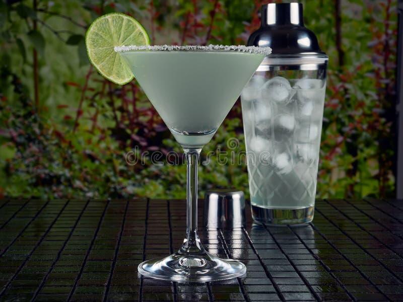 De klassieke cocktail van Margarita royalty-vrije stock afbeeldingen