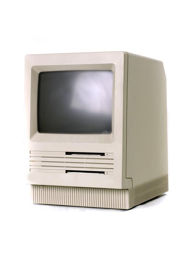 De klassieke computer van Mackintosh royalty-vrije stock afbeeldingen