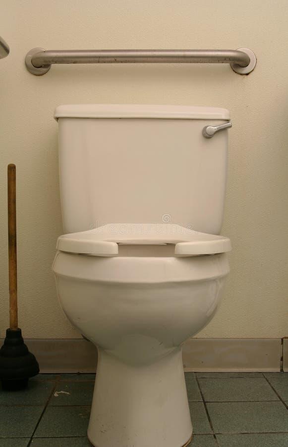 De klassieke Kom van het Toilet stock foto's