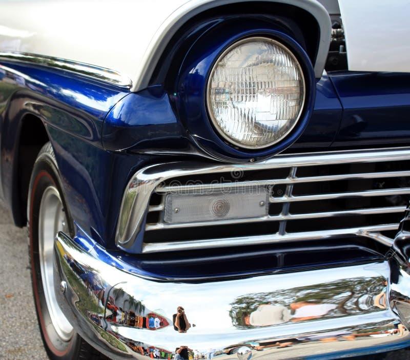 De klassieke Koplamp van de Auto royalty-vrije stock afbeeldingen