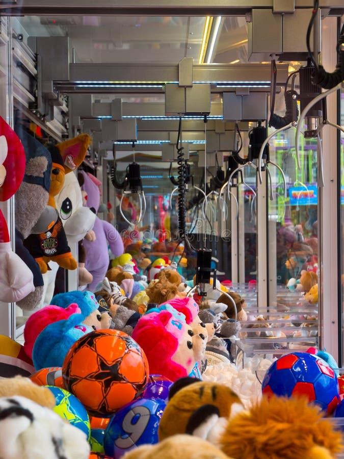 De klauw van de arcade royalty-vrije stock fotografie