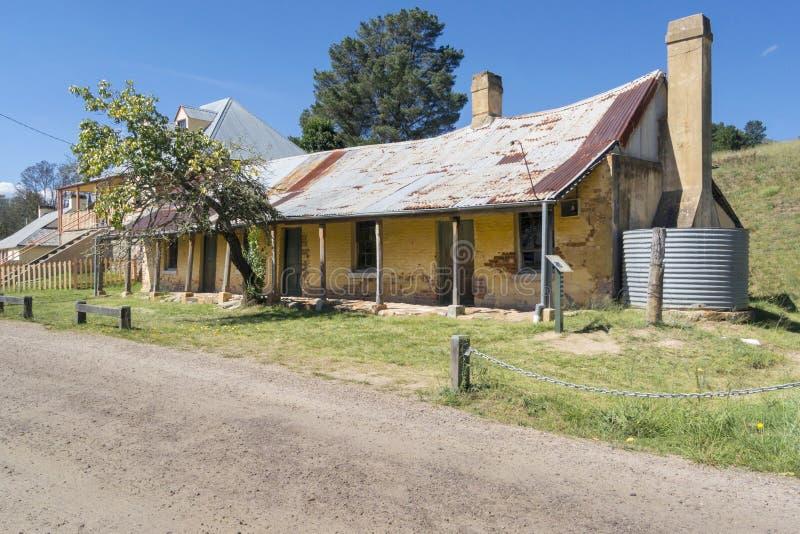 De Klaverherberg, Hartley, Australië royalty-vrije stock afbeelding