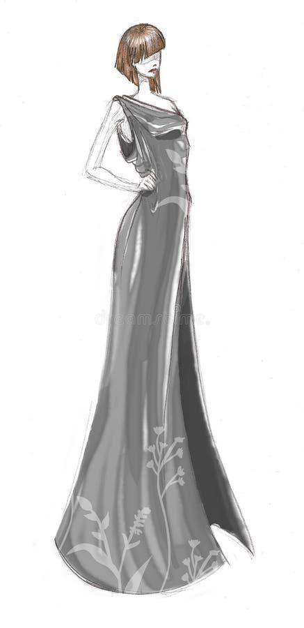 De kleding van de manier royalty-vrije illustratie