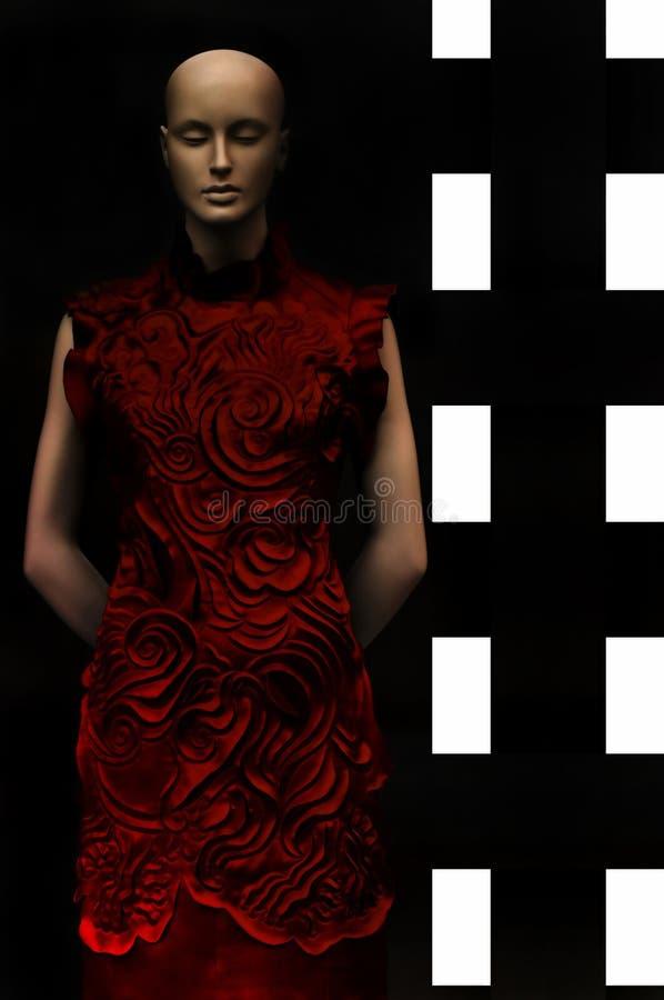 De kleding van de manier op ledenpop royalty-vrije stock fotografie