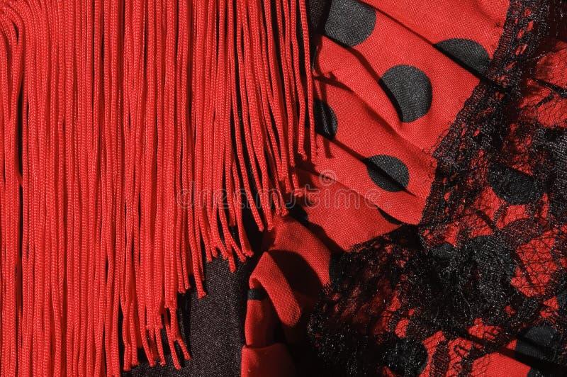 De kleding van het flamenco stock fotografie