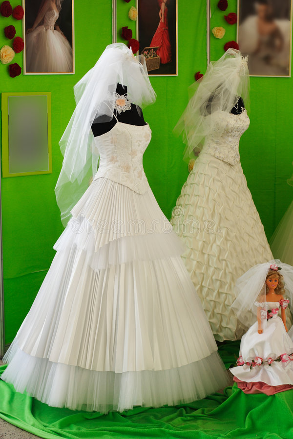 De kleding van het huwelijk royalty-vrije stock afbeeldingen