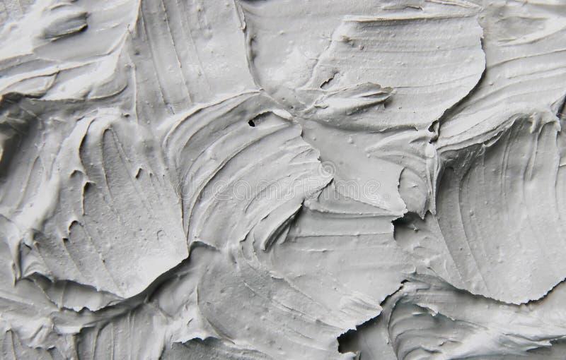 De klei van het moddermasker met mineralen van het dode overzees Textuur Selectieve nadruk royalty-vrije stock afbeelding