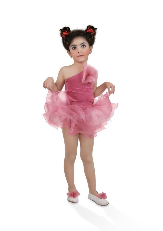 De Kleine Ballerina stock foto