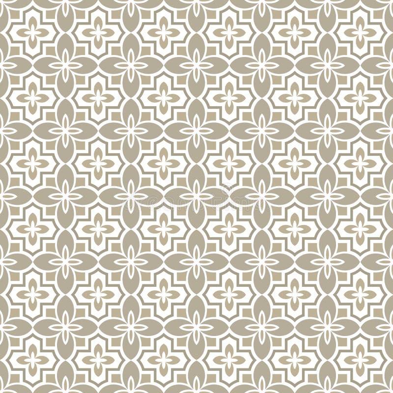 De kleine bloem ontluikt patroon royalty-vrije illustratie