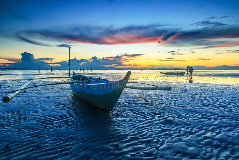 De Kleine boot en de fotografie stock foto