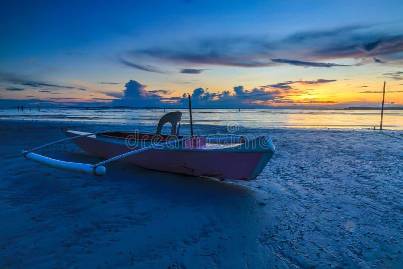 De Kleine boot en de fotografie royalty-vrije stock fotografie