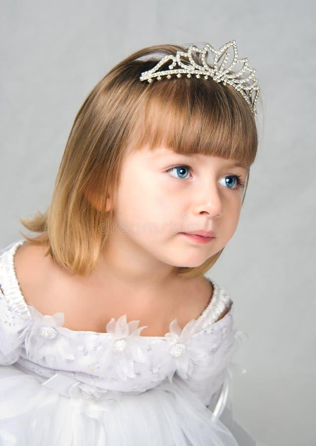 De kleine bruid stock foto