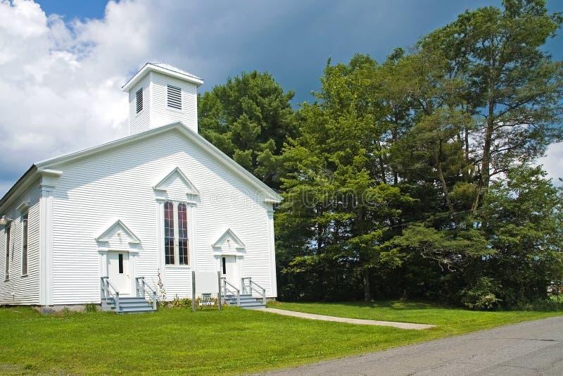 De kleine Kerk van het Land van New England royalty-vrije stock fotografie
