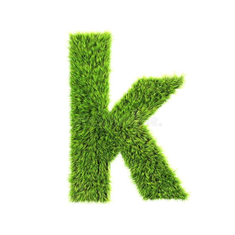 De kleine letter van het gras vector illustratie