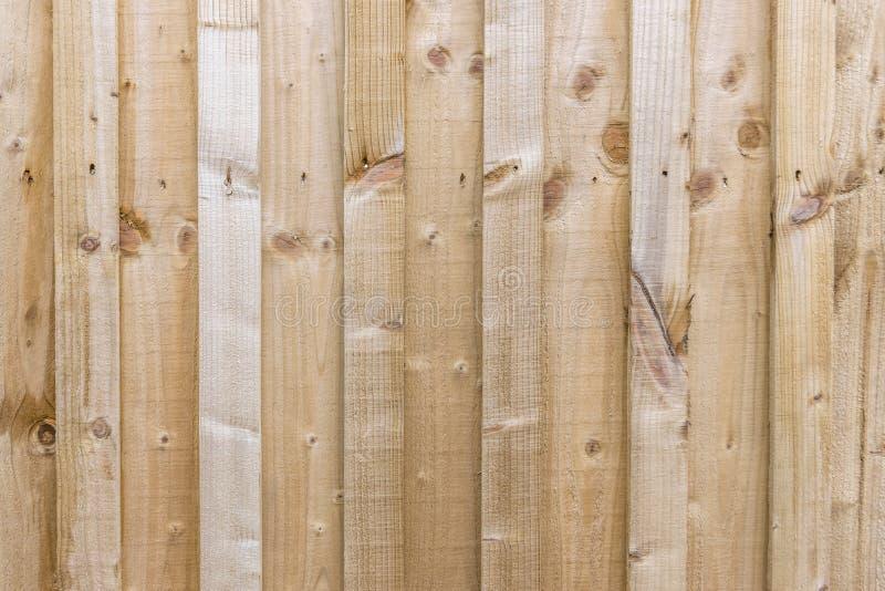 De kleine plank segmenteerde de lange achtergrond van het omheiningspaneel stock fotografie