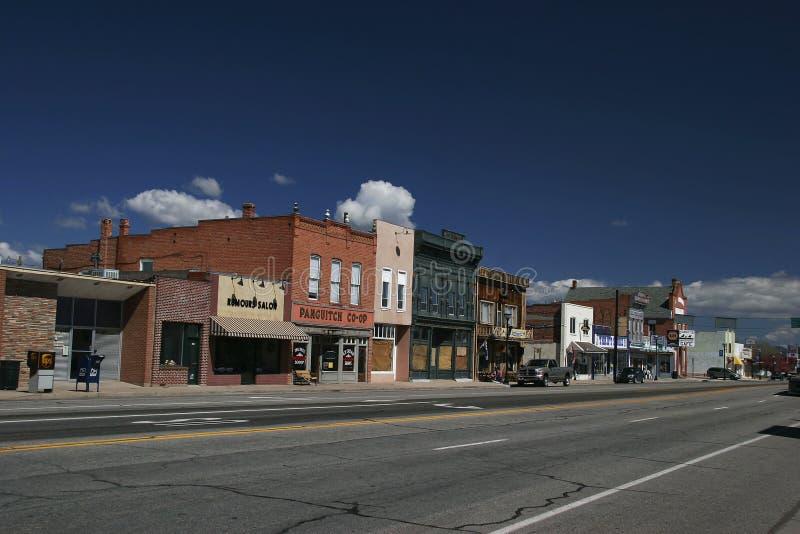 De kleine stad van Utah royalty-vrije stock foto's