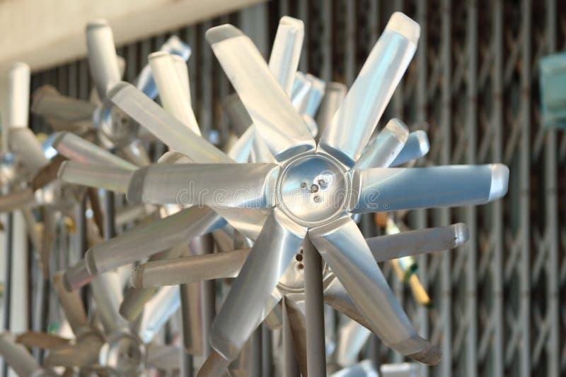 De kleine Turbines van de Wind royalty-vrije stock foto