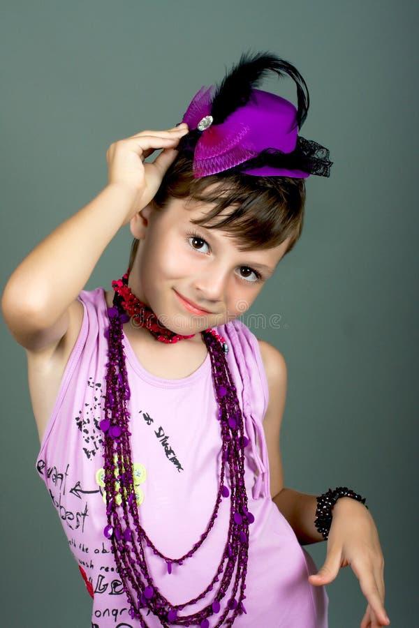 De kleine vrouw van manier stock foto's
