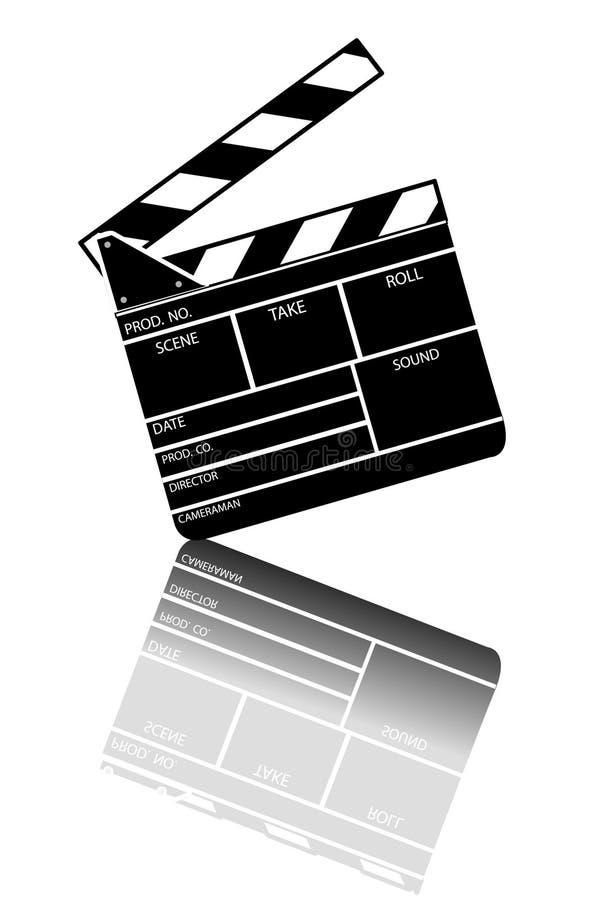 De kleppenraad van de film stock illustratie